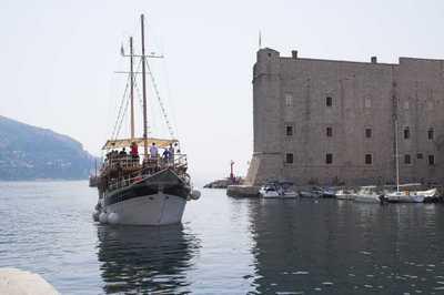 Dubrovnik bateau